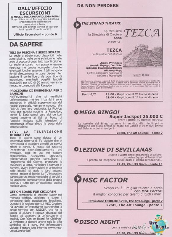 Msc SPLENDIDA - Med. Occidentale, 07/12/2013 - 14/12/2013-msc_splendida_daily_12-12-2013-02-jpg