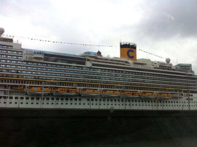 2014/12/13 Imbarco a Savona Costa Diadema-uploadfromtaptalk1418471110863-jpg