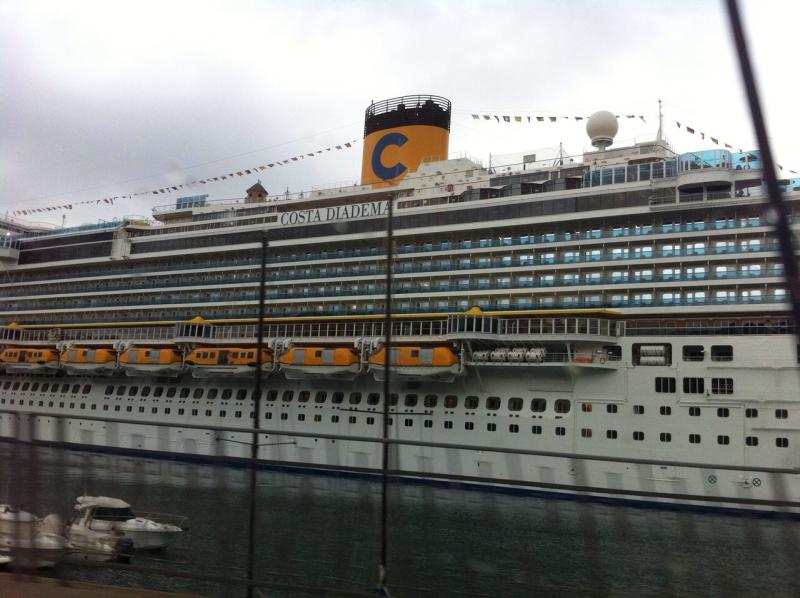 2014/12/13 Imbarco a Savona Costa Diadema-uploadfromtaptalk1418471131943-jpg