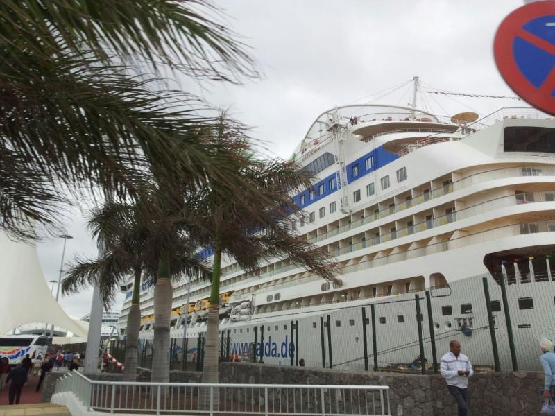 2015/01/17 - Las Palmas / Gran Canaria (Imbarco) - MSC Armonia-uploadfromtaptalk1421506916763-jpg