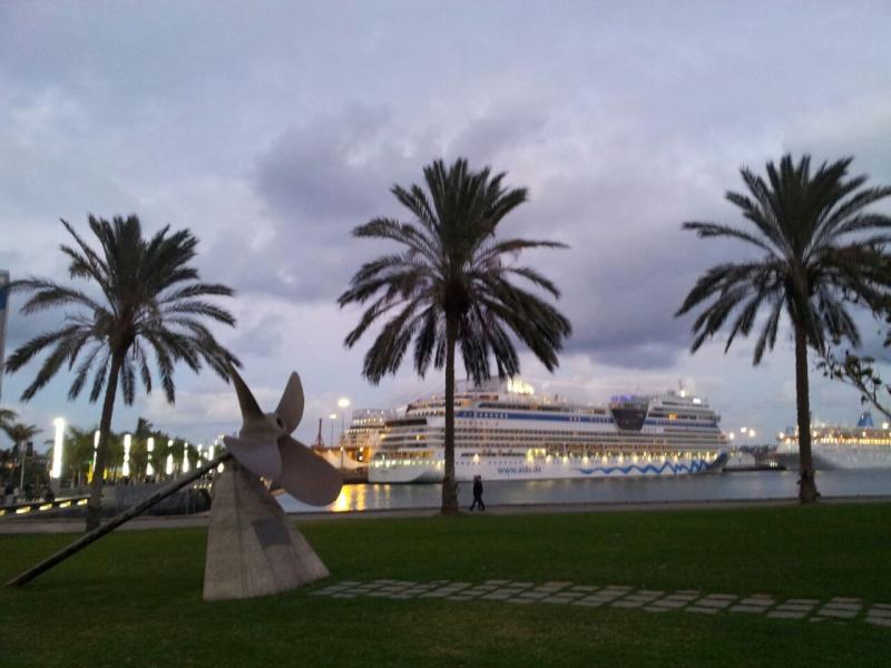 2015/01/17 - Las Palmas / Gran Canaria (Imbarco) - MSC Armonia-uploadfromtaptalk1421527079178-jpg