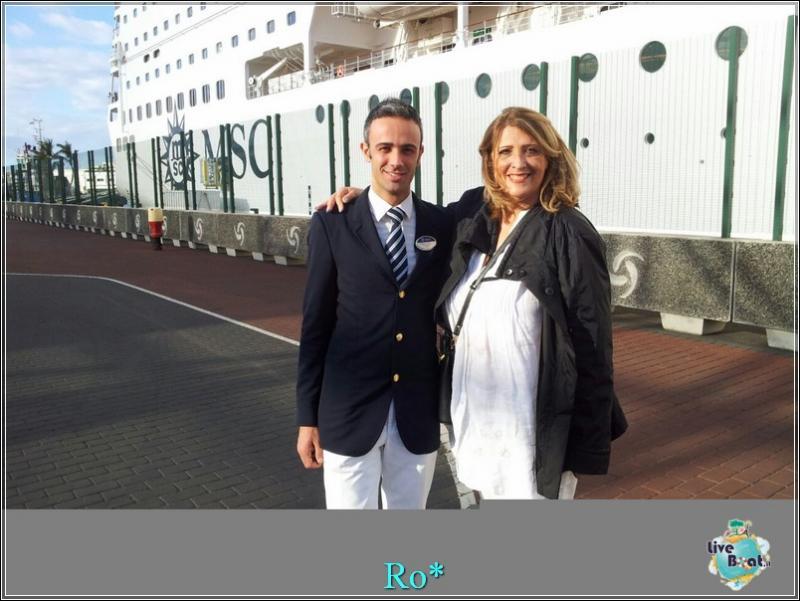 2015/01/24 - Las Palmas / Gran Canaria (Sbarco) - MSC Armonia-foto-mscarmonia-laspalmas-direttaliveboat-crociere-1-jpg