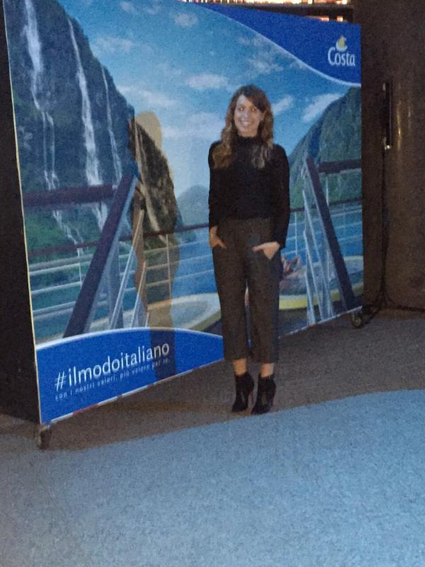 Evento Costa Crociere #ilmodoitaliano Galleria Campari Milano.-uploadfromtaptalk1425501165778-jpg