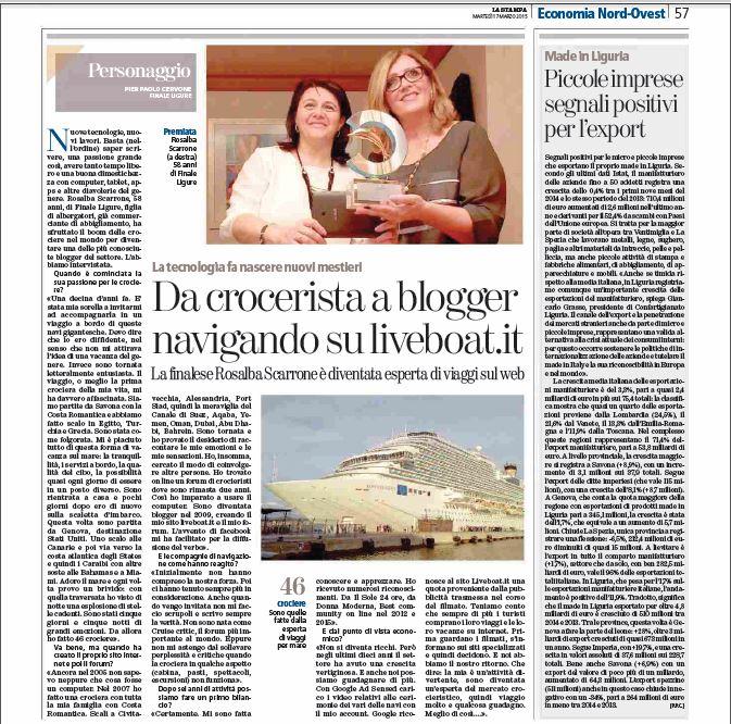 Oggi 17/03/2015 un articolo su Rosalba su La Stampa-articolo-ro-stampa-jpg