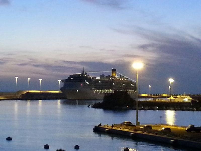 2 aprile 2015 - visita Costa Atlantica a Civitavecchia-uploadfromtaptalk1428094050901-jpg