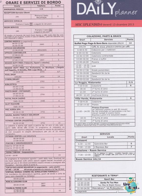Msc SPLENDIDA - Med. Occidentale, 07/12/2013 - 14/12/2013-msc_splendida_daily_13-12-2013-03-jpg