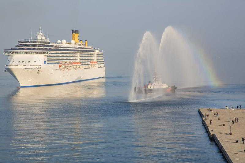Inaugurata stagione 2015 Trieste con Costa Mediterranea-med04-jpg