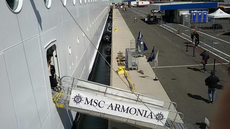 2015/04/20 - Msc Armonia - Maiden Call a La Spezia-uploadfromtaptalk1429523755450-jpg