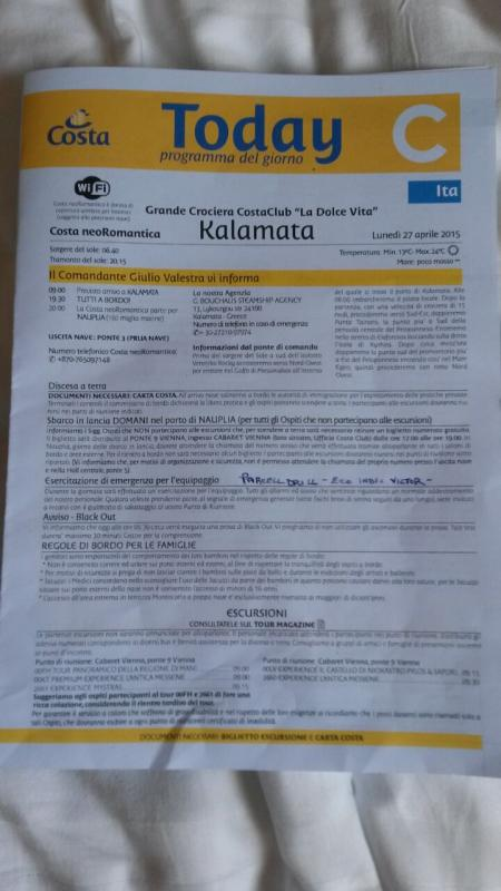 2015/04/27 Kalamata-  costa neoromantica crociera costa club-uploadfromtaptalk1430153001015-jpg
