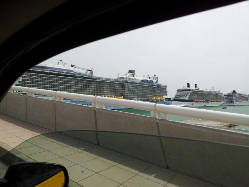 2015/05/13 Quantum of the seas, partenza da Barcellona-uploadfromtaptalk1431521973049-jpg
