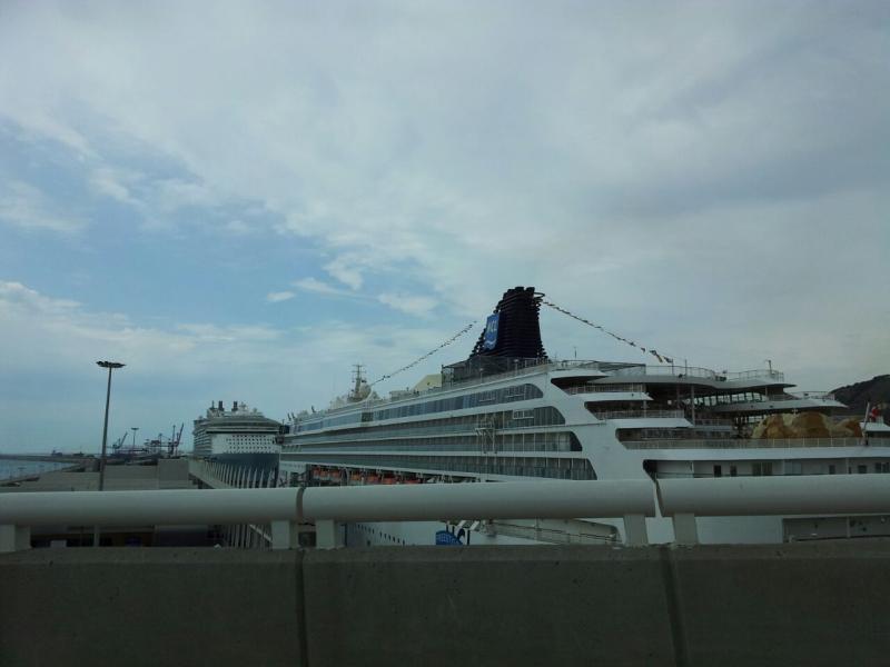 2015/05/19 Allure of the seas, partenza da Barcellona-uploadfromtaptalk1432030885132-jpg