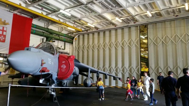 Visita alla portaerei Cavour a Cagliari-uploadfromtaptalk1433153019851-jpg