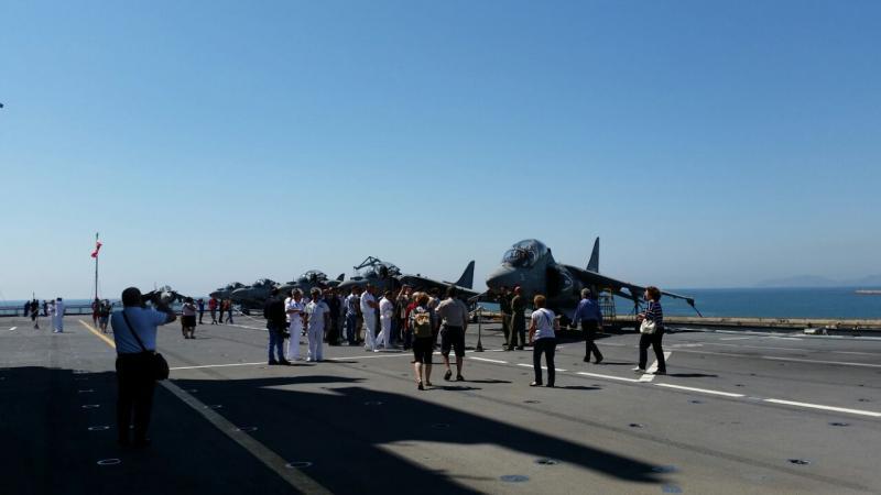 Visita alla portaerei Cavour a Cagliari-uploadfromtaptalk1433153112433-jpg
