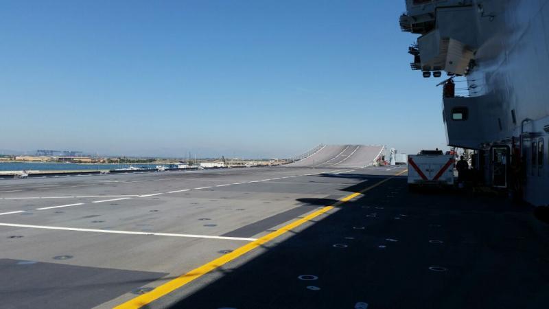 Visita alla portaerei Cavour a Cagliari-uploadfromtaptalk1433153121267-jpg