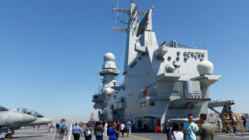 Visita alla portaerei Cavour a Cagliari-uploadfromtaptalk1433153322809-jpg