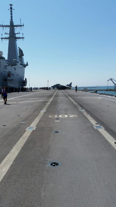 Visita alla portaerei Cavour a Cagliari-uploadfromtaptalk1433153388241-jpg