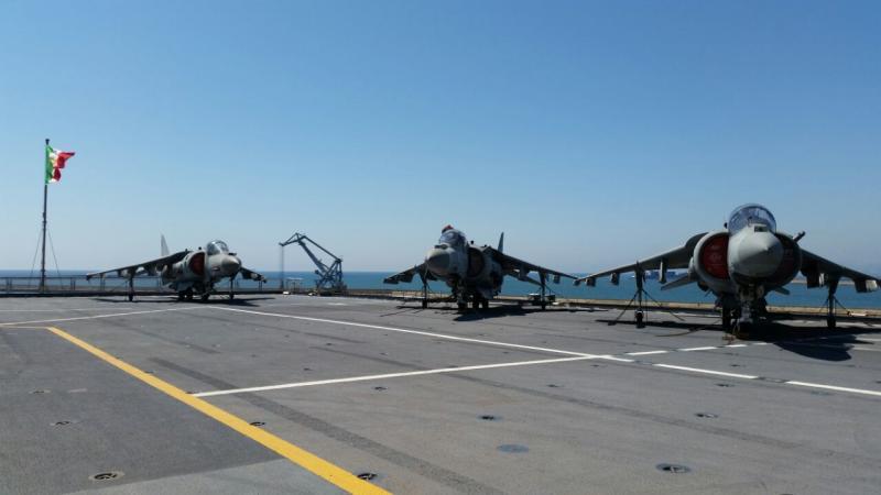 Visita alla portaerei Cavour a Cagliari-uploadfromtaptalk1433153455191-jpg