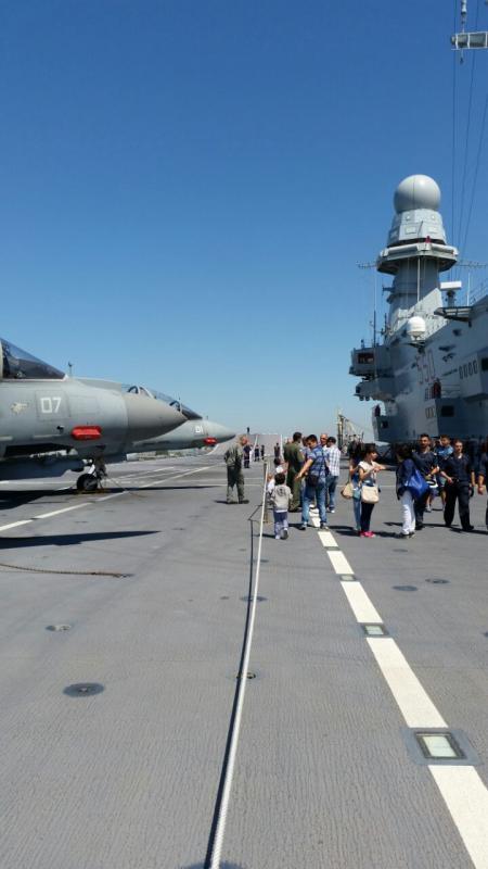 Visita alla portaerei Cavour a Cagliari-uploadfromtaptalk1433153489615-jpg