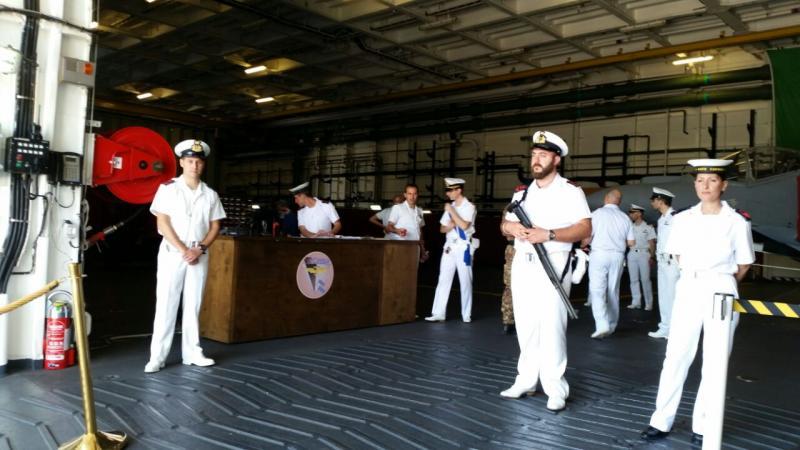 Visita alla portaerei Cavour a Cagliari-uploadfromtaptalk1433153495314-jpg