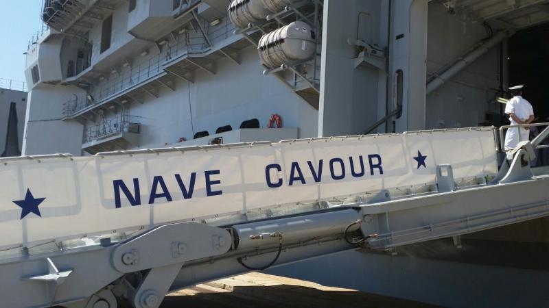 Visita alla portaerei Cavour a Cagliari-uploadfromtaptalk1433153534651-jpg