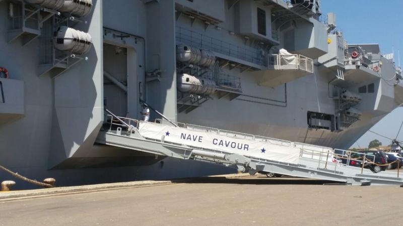 Visita alla portaerei Cavour a Cagliari-uploadfromtaptalk1433153590900-jpg