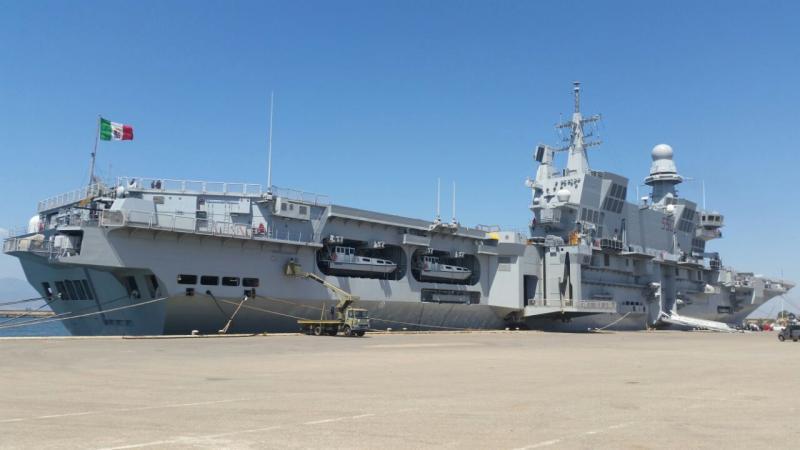 Visita alla portaerei Cavour a Cagliari-uploadfromtaptalk1433153597213-jpg