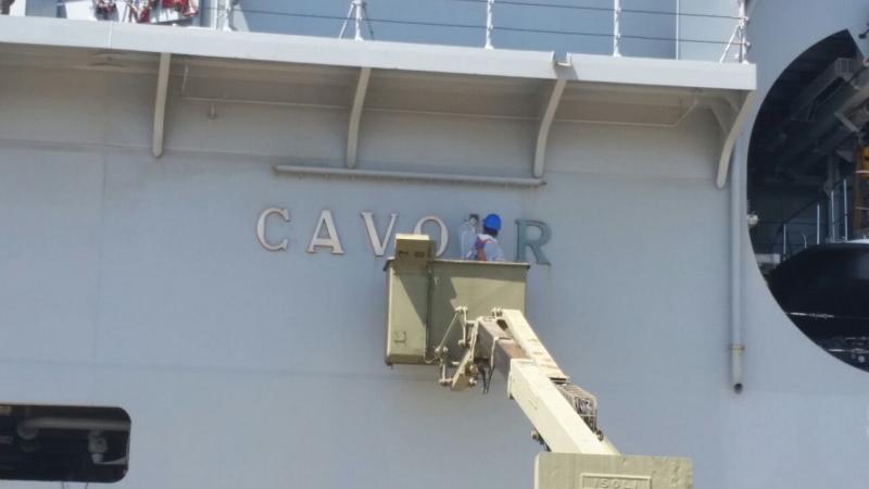 Visita alla portaerei Cavour a Cagliari-uploadfromtaptalk1433153604004-jpg