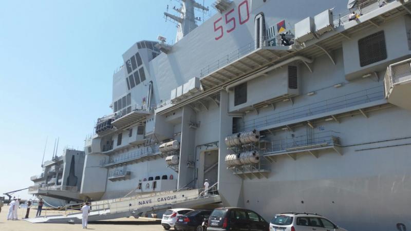 Visita alla portaerei Cavour a Cagliari-uploadfromtaptalk1433153615945-jpg