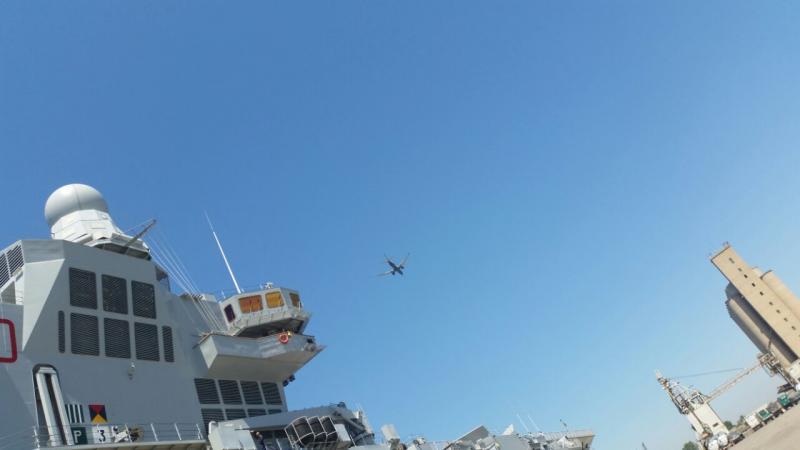 Visita alla portaerei Cavour a Cagliari-uploadfromtaptalk1433153876961-jpg