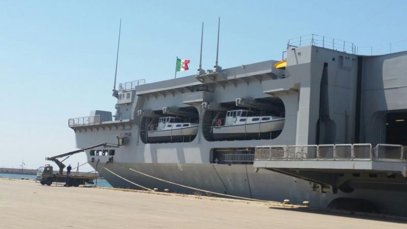 Visita alla portaerei Cavour a Cagliari-uploadfromtaptalk1433153882213-jpg