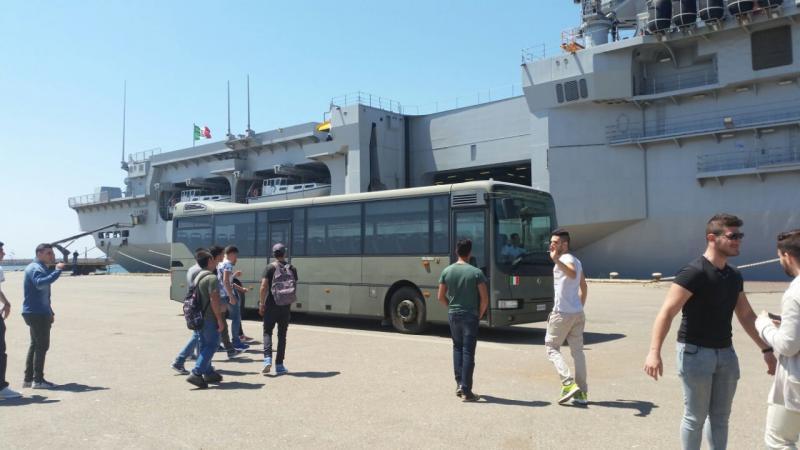 Visita alla portaerei Cavour a Cagliari-uploadfromtaptalk1433153898811-jpg