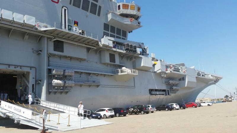Visita alla portaerei Cavour a Cagliari-uploadfromtaptalk1433153906704-jpg