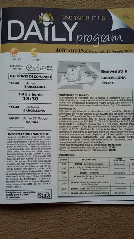 2015/05/20 Barcellona MSC Divina-uploadfromtaptalk1432123425778-jpg