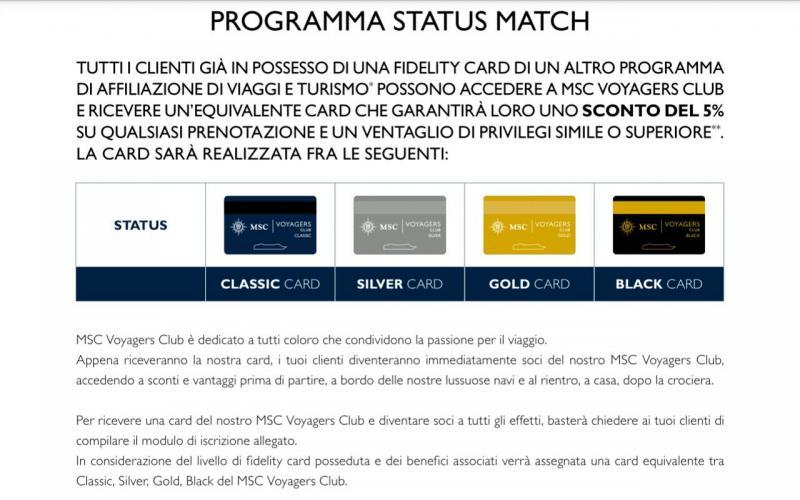 MSC Voyagers Club acquisizione status altre Compagnie-20150722102727-jpg