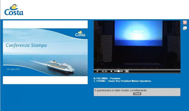 Costa Crociere presenta il programma Excellent-videoconferenza-costa-jpg