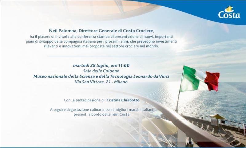 Costa Crociere presenta il programma Excellent-invito-stampa-costa-jpg