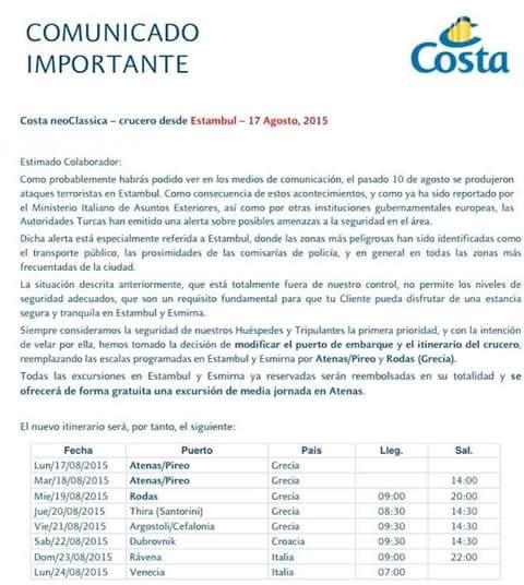 Istanbul: Costa crociere cancella gli scali di Costa neoClassica-costa-cruceros-estambul-01-jpg