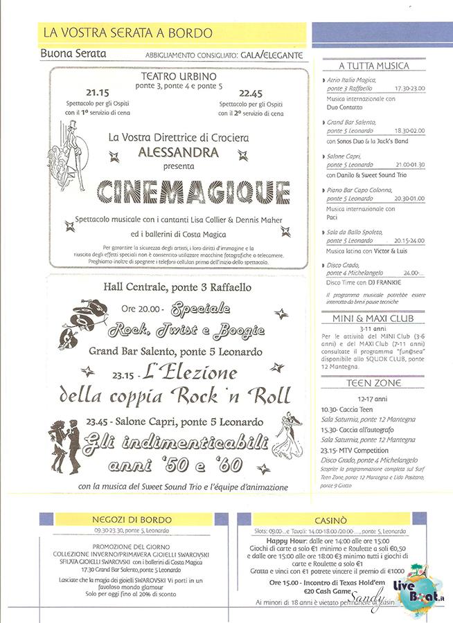 COSTA MAGICA - Cavalieri ed Eroi, 03/03/2013 - 14/03/2013-today_costa_magica_04-03-2013_liveboat-03-jpg