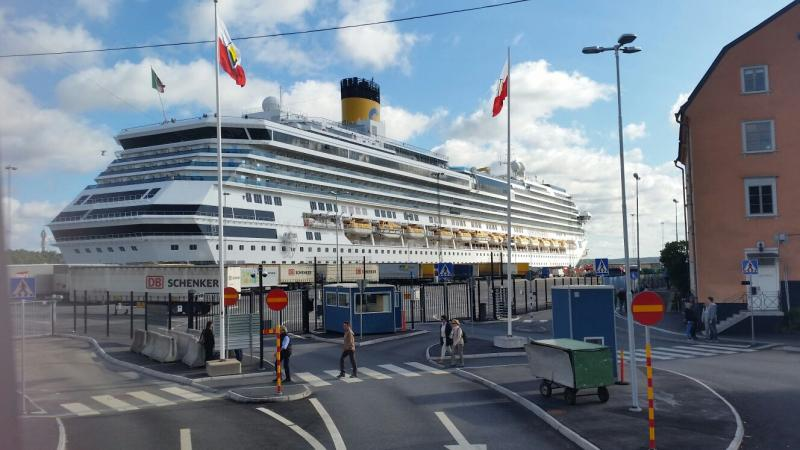 2015/08/29 Costa Luminosa Partenza da Stoccolma-uploadfromtaptalk1440837152019-jpg