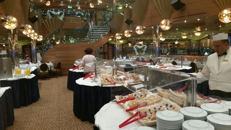 2015/09/10 Costa Luminosa in navigazione-colazione-ristorante-costa-luminosa-tutte-proposte-9-jpg