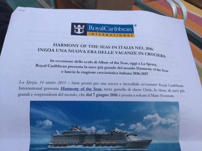 Harmony of the seas presentata oggi a bordo si Allure of the seas a La Spezia 14/10/-conferenza-stampa-harmony-of-the-seas-bordo-allure-43-jpg