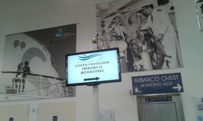 2015/11/20 Costa Favolosa partenza da Savona-uploadfromtaptalk1448012154322-jpg