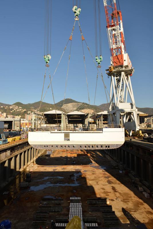"""Iniziati i lavori in Fincantieri della nave superlusso """"Silver Muse""""-_fil5693-jpg"""