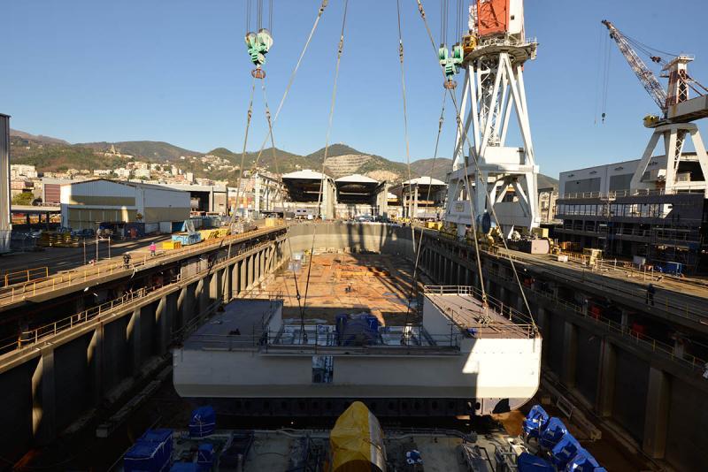 """Iniziati i lavori in Fincantieri della nave superlusso """"Silver Muse""""-_fil5698-jpg"""