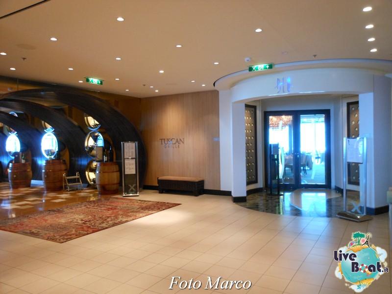 Il corridoio per i ristoranti speciali di Eclipse-4foto-liveboat-celebrity-eclipse-jpg