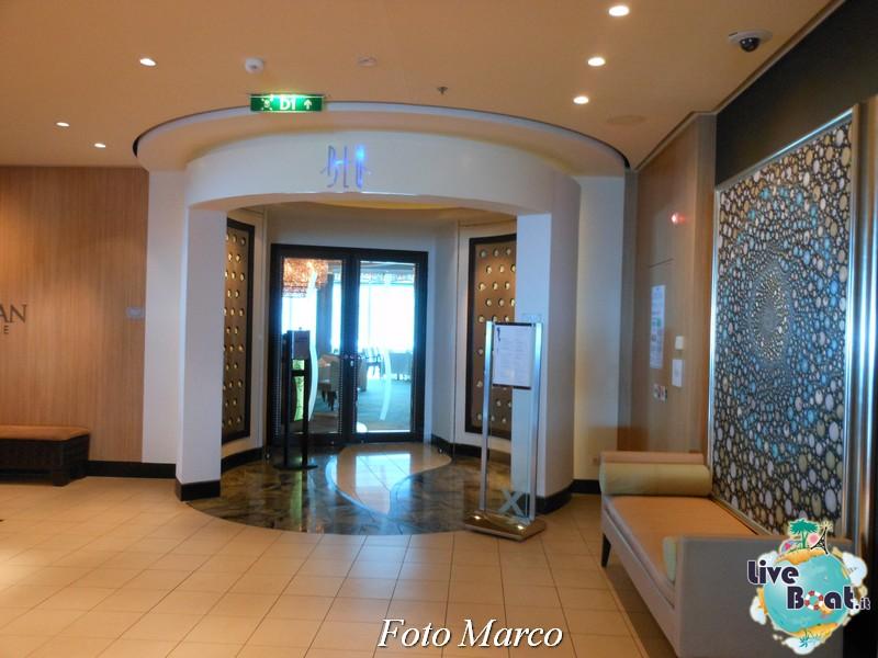 Il corridoio per i ristoranti speciali di Eclipse-7foto-liveboat-celebrity-eclipse-jpg