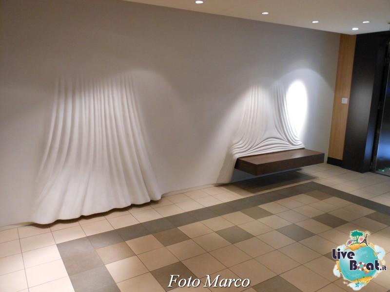 Il corridoio per i ristoranti speciali di Eclipse-9foto-liveboat-celebrity-eclipse-jpg