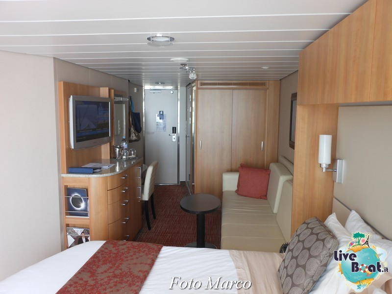 Un esempio di cabina esterna con balcone di Eclipse-1foto-liveboat-celebrity-eclipse-jpg