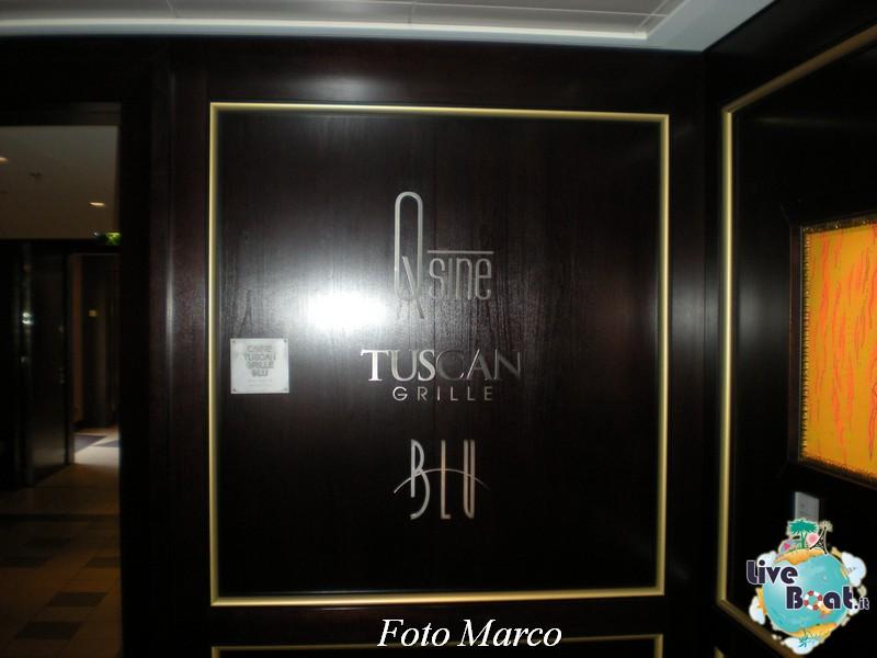 L'atrio dei ristoranti club di Celebrity Silhouette-79foto-liveboat-celebrity-silhouette-jpg