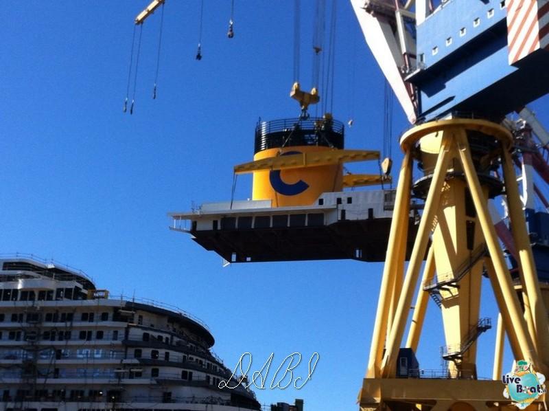 Il fumaiolo di Costa Diadema arriva a Marghera-1costa-diadema-liveboat-crociere-jpg